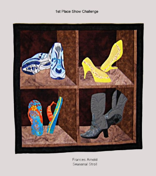 2009 1st for Seasonal: Seasonal Stroll by Frances Arnold