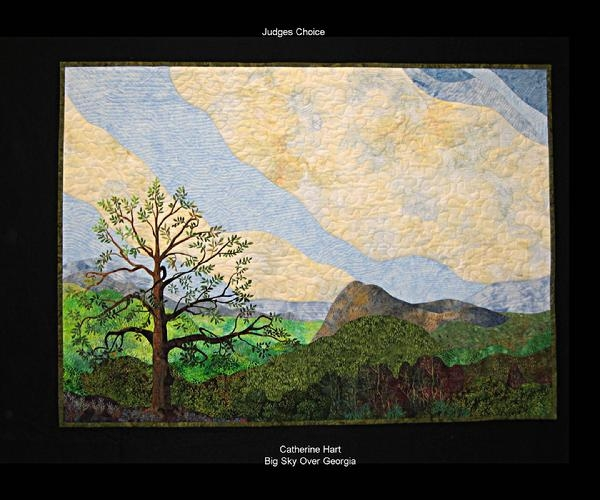2009 Judges Choice: Big Sky Over Georgia by Catherine Hart