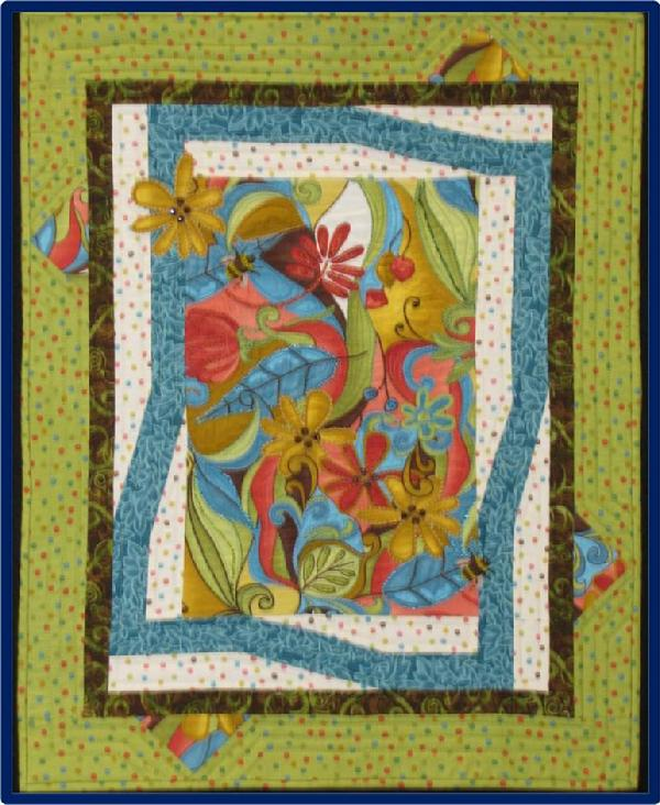 "2011 Challenge - Hot & Cool: ""I\'m a Hot Threads / Cool Quilts Wannabe\"" by Fay Rawls"