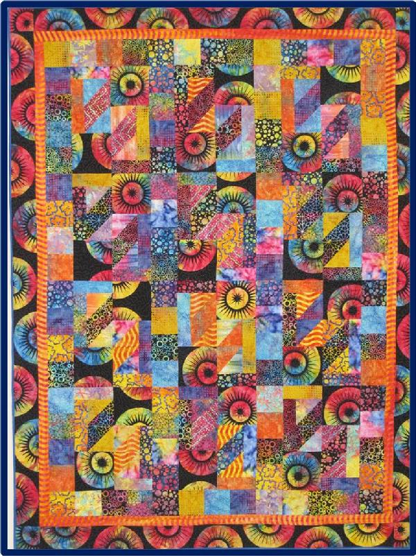 2011 Bed Quilts: Never a Dull Moment by Francyne Willby