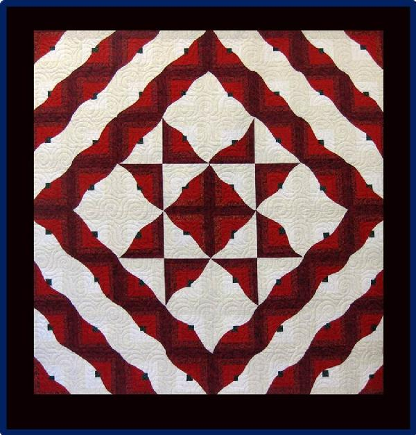 2013 Best Traditional Patterning: Beautiful Star of Bethlehem by Shirley Erickson
