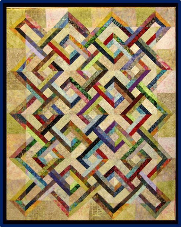 2013 Lap Quilt: Sunsetting by Terri Jarrett
