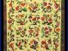 2013 Viewer\'s Choice Best Hand Quilting Best Applique Wall Quilt - Applique: Jacobean Terraria by Cleo Ward
