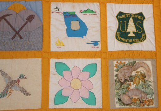 Brasstown Bald Quilt 3 Blocks