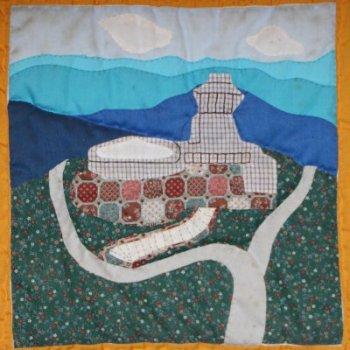 Brasstown Bald Quilt 3 Block