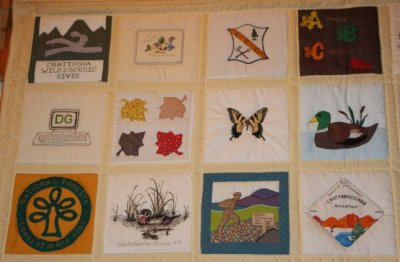 Brasstown Bald Quilt 4 Blocks