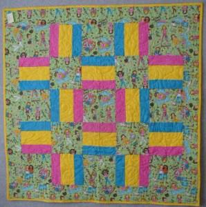 PCA # 7 BFF squares & rails
